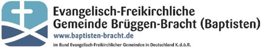 Logo Evangelisch Freikirchliche Gemeinde Brüggen-Bracht